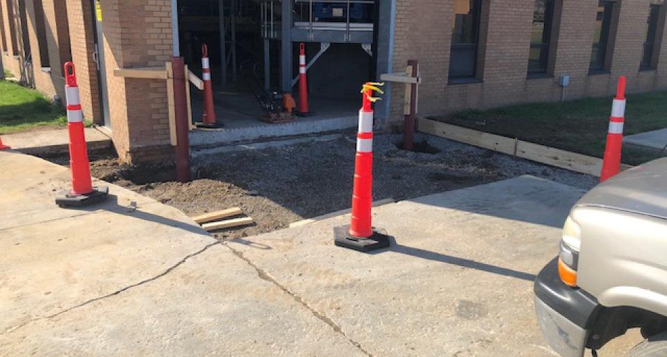 Demolition Concrete Poles : We are a general contractor providing concrete carpentry